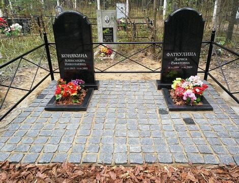 Памятники из красного гранита Обнинск объекты ленспецсму спб и цены